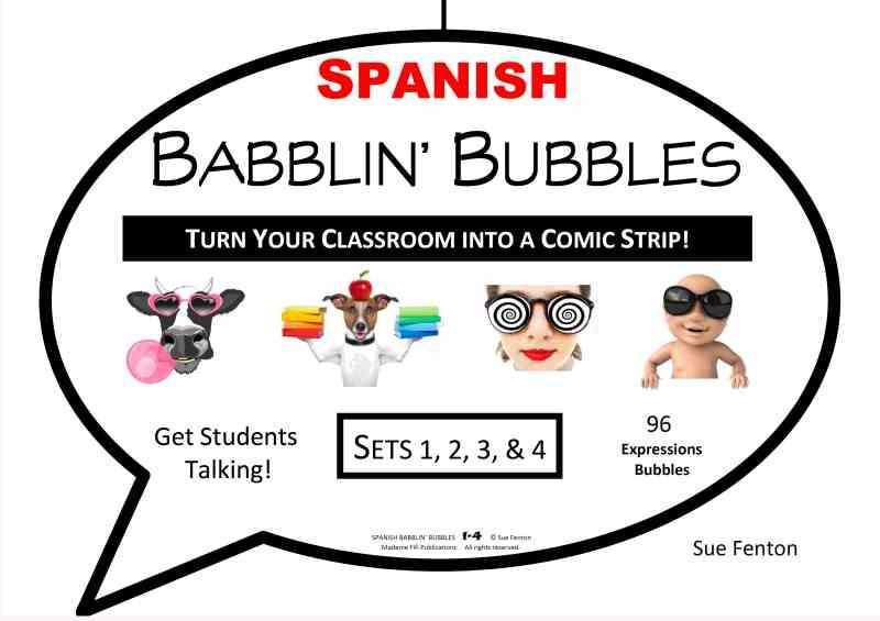 SPANISH BABBLIN' BUBBLES All Sets 1-4