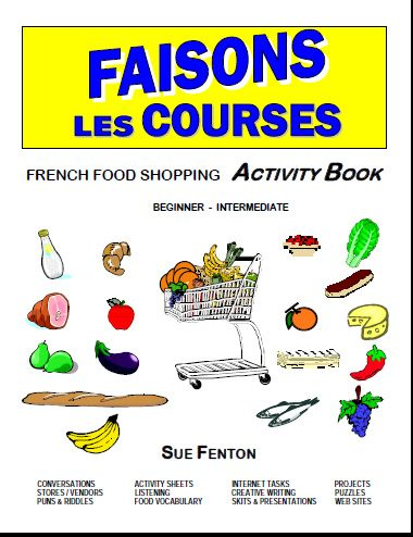 FAISONS LES COURSES French Food Shopping