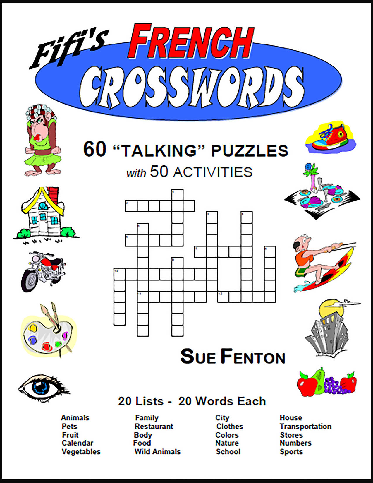 "FRENCH CROSSWORDS Creative ""Talking"" Crossword Puzzles"