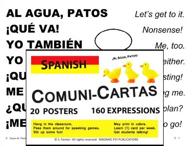 SPANISH COMUNI-CARTAS Set 1