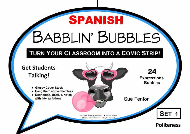 SPANISH BABBLIN' BUBBLES